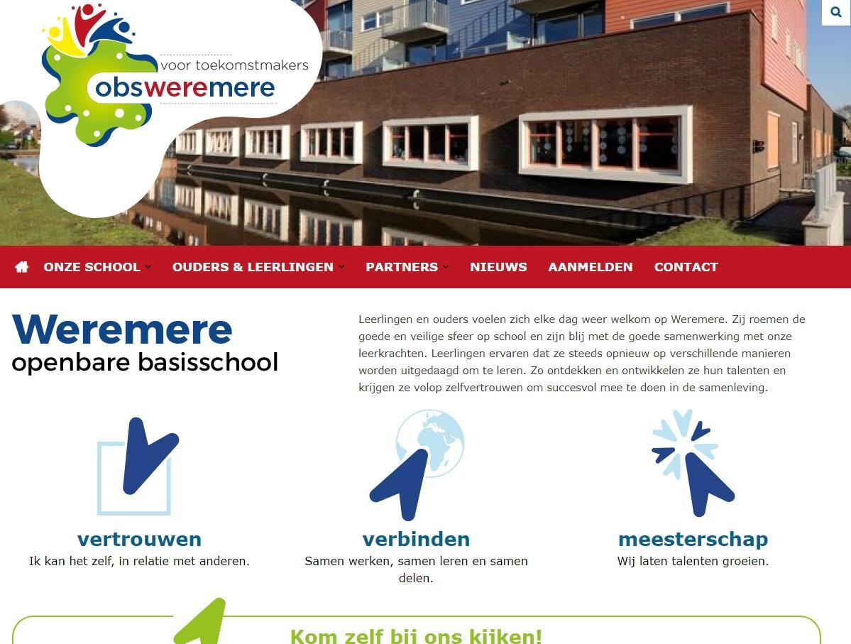 1ed1f5a0882 De vorige website was aan vervanging toe. Er stond ook informatie op voor  de ouders die al een kind bij ons op school hebben. Inmiddels informeren we  hen ...